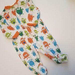 *Boys* Garanimals 0-3M Footie Pajamas